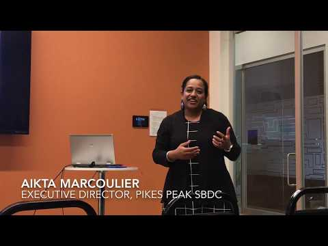 CSBCC Feature Presentation - Pikes Peak SBDC - May 2017