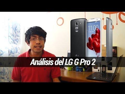 LG G Pro 2 - Análisis en Español