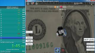 [FWR] ROBLOX: Speed Run 4 Gears% - All Levels, Coils in 3:20.61