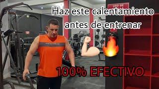 CALENTAMIENTO PARA ANTES DE ENTRENAR 100X100 EFECTIVO
