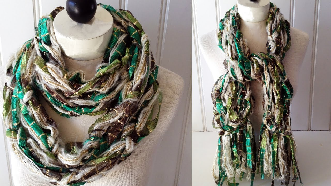 Arm knitted scarf starbella luxe starry night right handed youtube dt1010fo