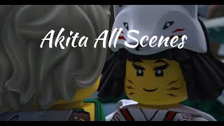Ninjago: Akita All Scenes