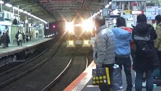 近鉄1253系1253編成快速急行大阪上本町行き到着