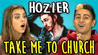 HOZIER - Take Me To Church (REACT: Lyric Breakdown)