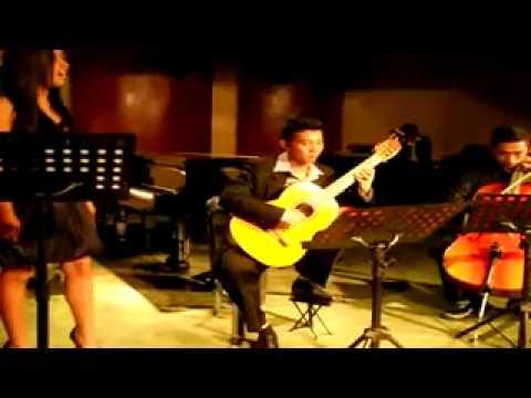 Kalesa (Ernani Cuenco) arr. for voice, guitar & cello