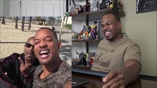 Will Smith and Martin Lawrence Announce BAD BOYS 3   REACTION!!!