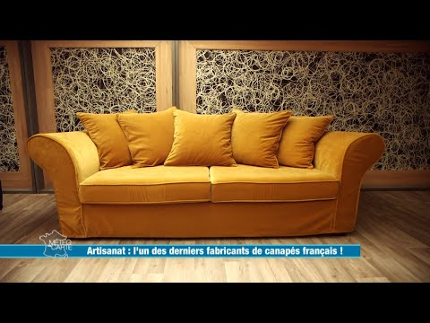L'un des derniers fabricants de canapés français - Météo à la carte