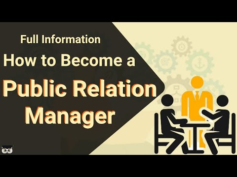 Public Relation Manager | Entertainment  | Skills Required | Salary | Eligibility