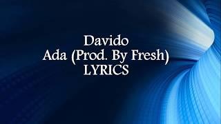 Download lagu DJ Ecool Ft. Davido – Ada LYRICS