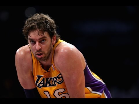 Pau Gasols Top 10 Plays with the Los Angeles Lakers