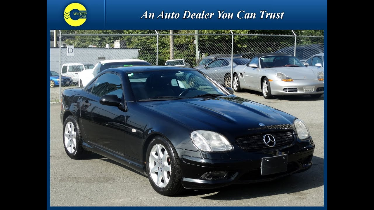 1998 mercedes benz slk class slk230 kompressor roadster for sale in vancouver youtube. Black Bedroom Furniture Sets. Home Design Ideas