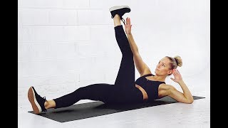 At Home Lower Abs Workout // No Equipment