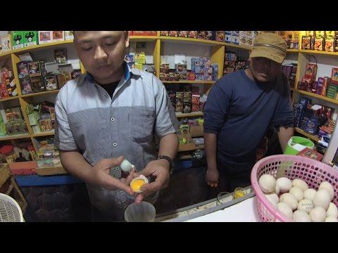 Greater Jakarta Street Food 1392 Part.2 Permata Traditional Herbal Jamu Rudal Cipanas