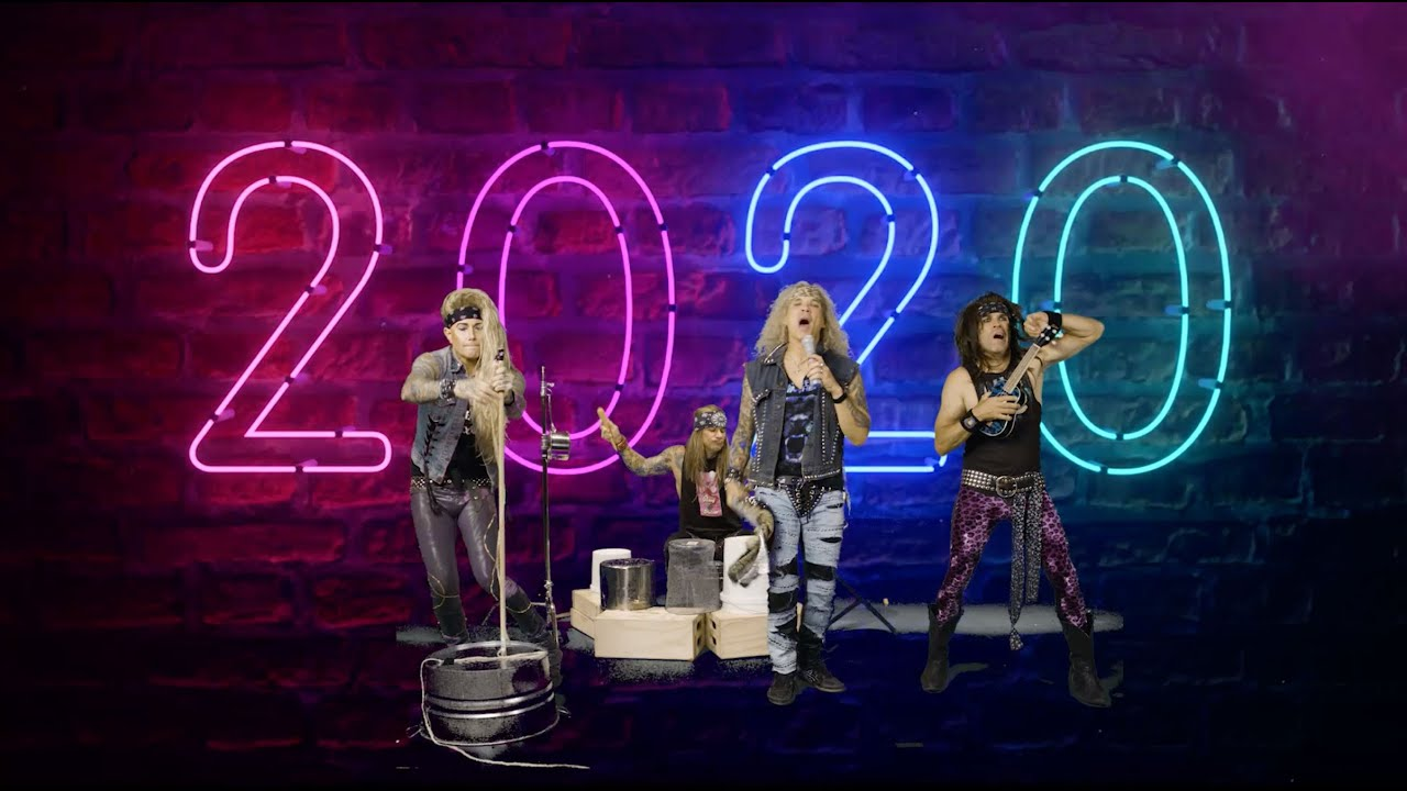 Steel Panther - Fuck 2020 [Official Video]