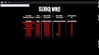 ROBLOX Stop It Slender 2 Part 3 (SNEAK PEEK) #Rea Is Slender