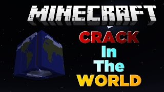 """EVERYONE DIES IN THE END!"" Crack In The World - Minecraft Adventure Map"