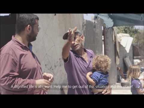 Life in a Cemetery - Gaza - Al-Khair Foundation