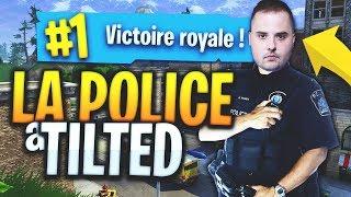 LA POLICE À TILTED SUR FORTNITE BATTLE ROYALE