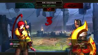 Darkness Reborn Global solo Part. 2 Me vs Chinese Kunoichi. Longest fight ever.