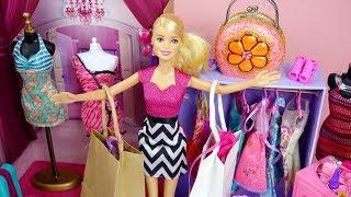 Barbie ❤️ Loves to Shop Barbie Dress Shopping Beauty Barbie Accessories Anna's Fashion Shop