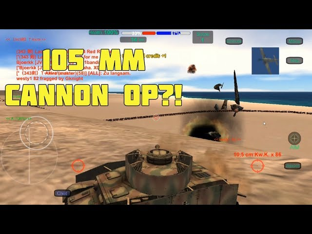 Wings of Duty - Panzer IV 105mm PLANE SNIPING!
