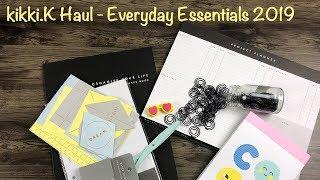 kikki.K Haul - Everyday Essentials 2019