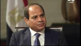 بالفيديو.. النص الكامل لحوار «السيسي» مع قناة «PBS» الأمريكية