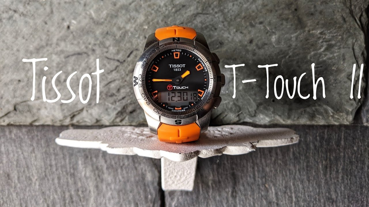 tissot t touch ii watch review youtube rh youtube com Tissot T-Touch Titanium Tissot T-Touch Titanium