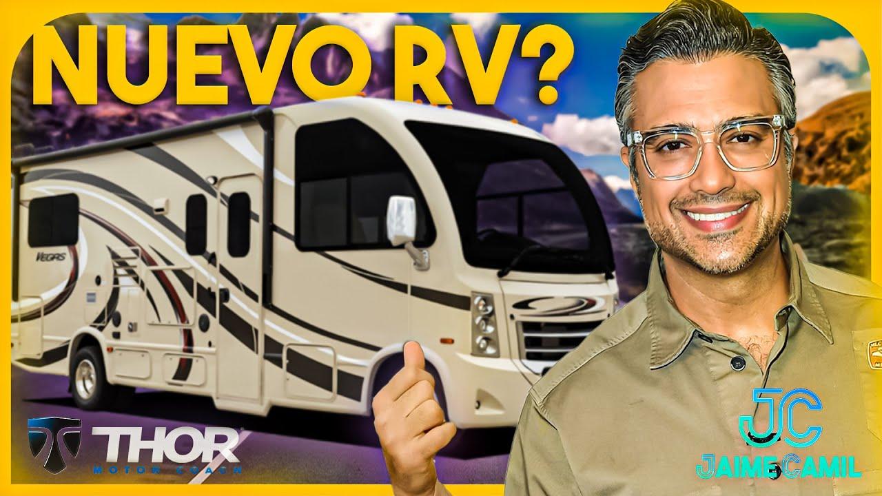 Nuestro nuevo THOR Motorcoach VEGAS 27.7!   Jaime Camil