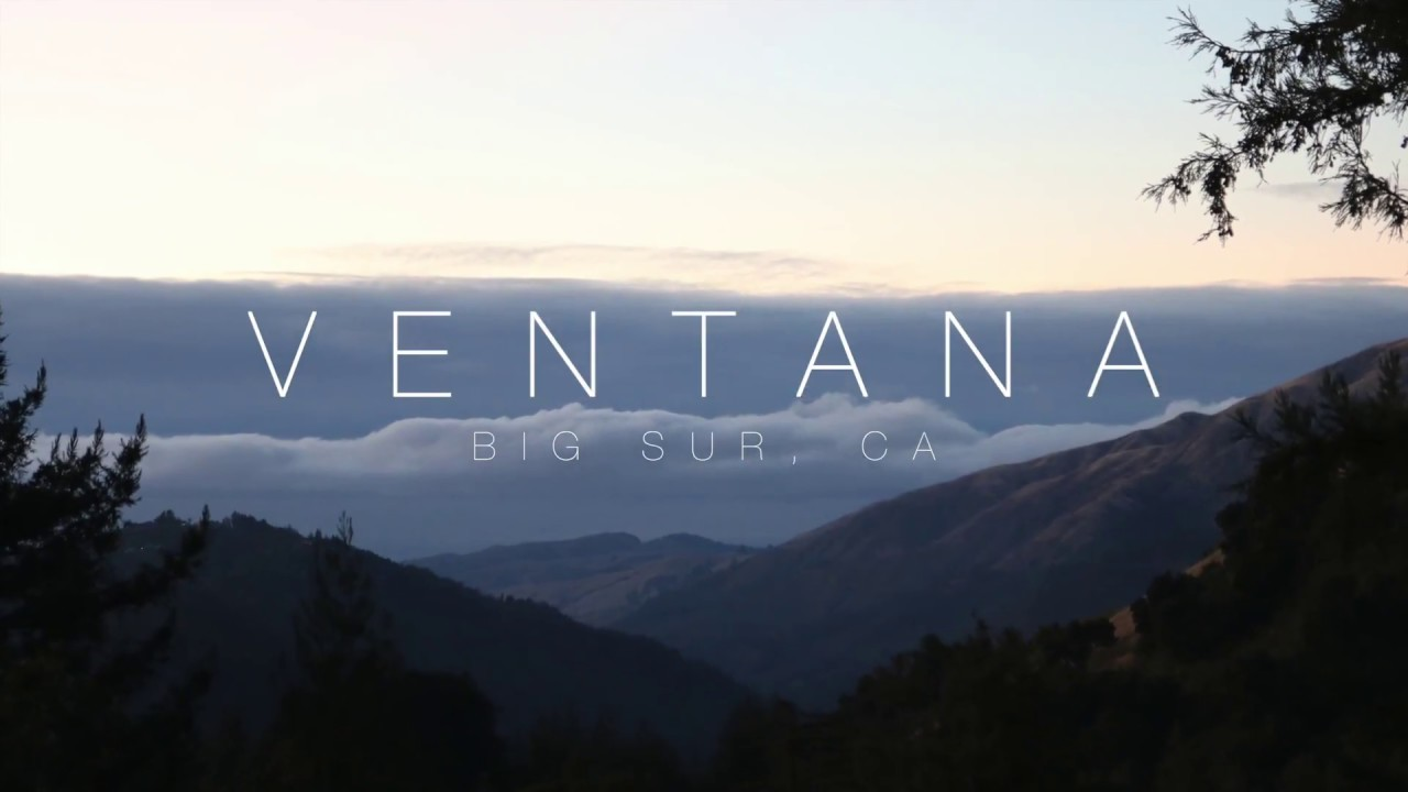 Ventana Resort Big Sur Ca Youtube