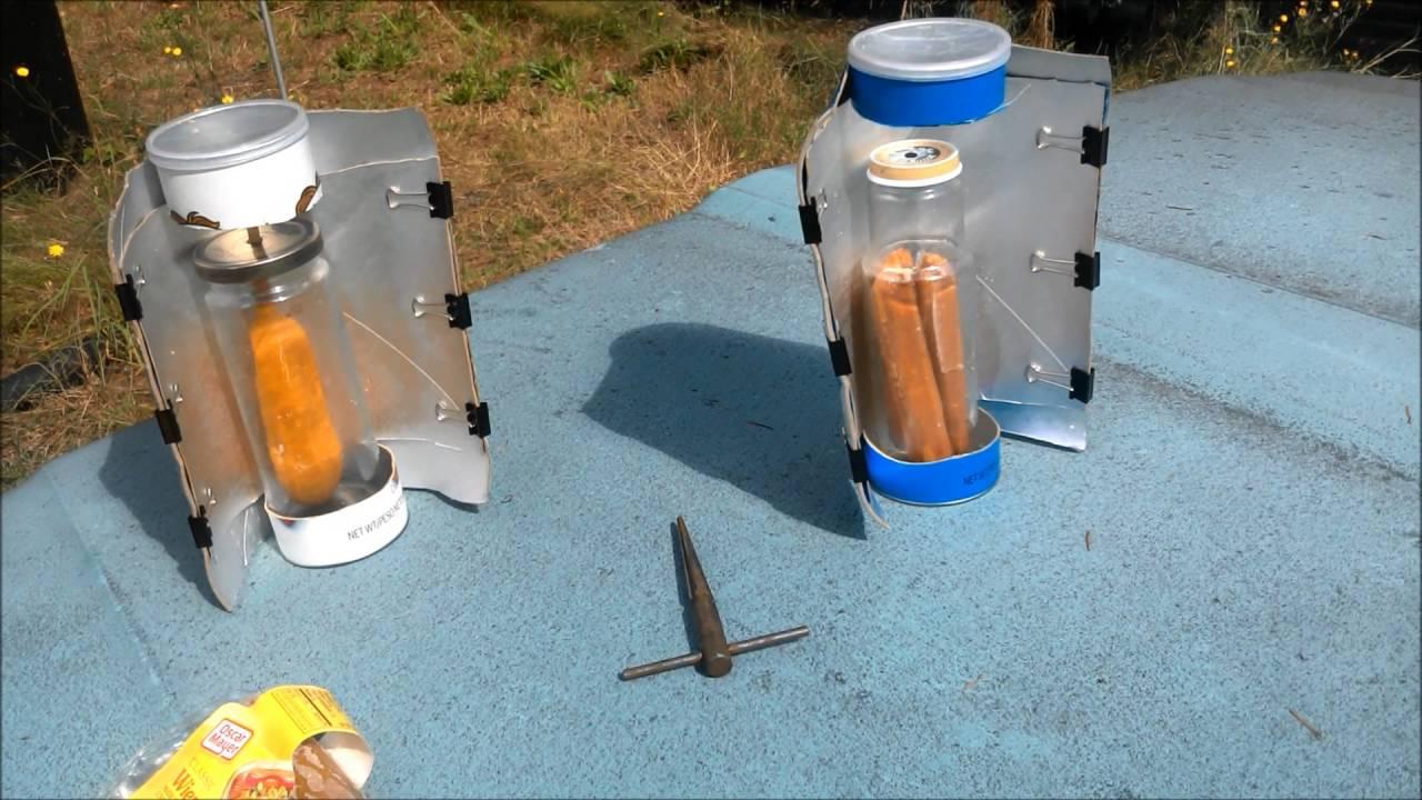 Pringles Solar Cooker Youtube