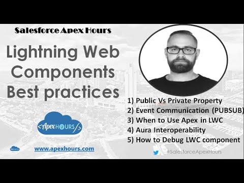 Lightning Web Components Best practices
