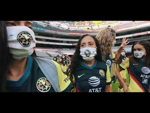 Detrás de cámaras Foto Oficial Club América Femenil |  GUARD1ANES 2021