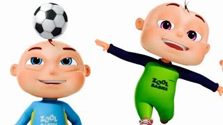 Five Little Babies Playing Football (Single) | Nursery Rhymes For Kids | Soccer Song | Zool Babies