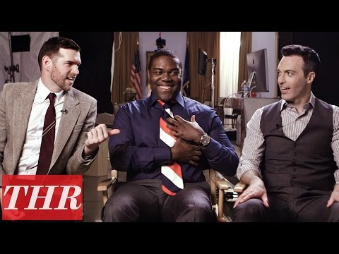 Men of 'Veep' Take the Political Quiz: Obama's Basketball Hoops, Clinton's Impeachment & More! | THR