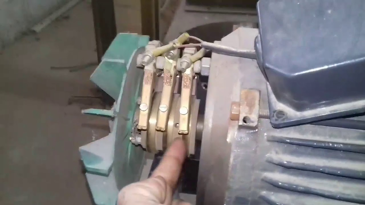 Slip Ring Motor Has