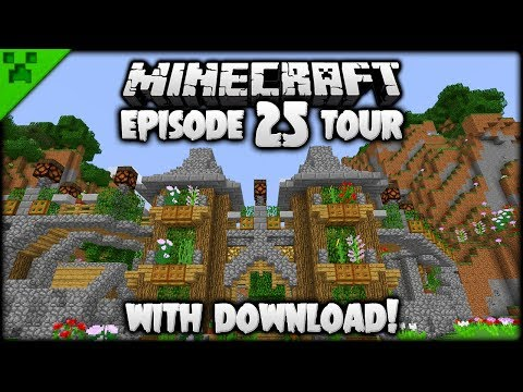 Python's World Tour & Download! (#1) | Python's World (Minecraft Survival Let's Play) | Episode 25