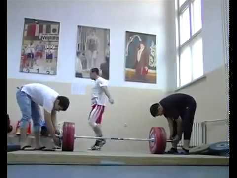 Ilya Ilyin_training day_good mood_good coach (archive)