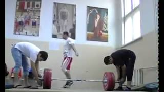 Ilya Ilyin_training day_good mood_good coach (archive)