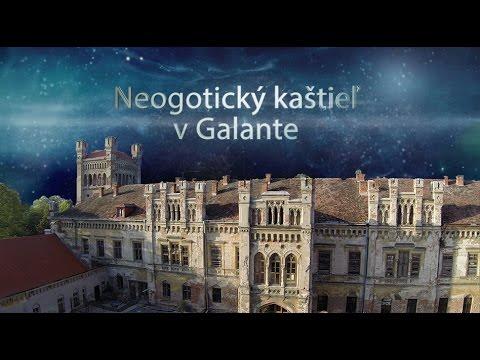 Neogotický kaštieľ v Galante