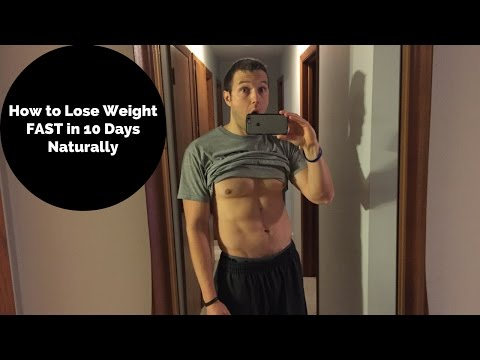 How to Lose Weight Fast in 10 Days Naturally