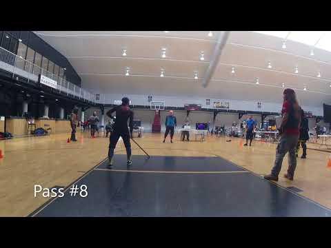 Study in Steel 2018 HEMA Longsword Tournament: Pool 11 match#1