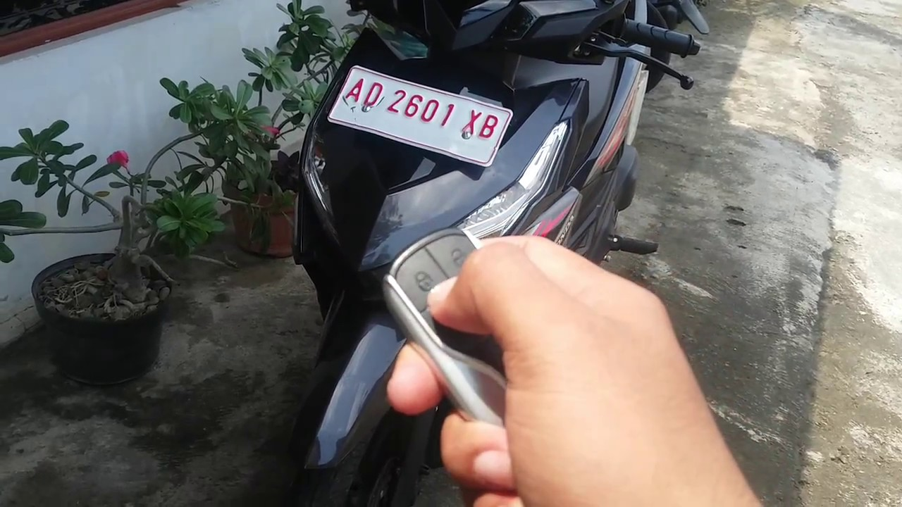 Remot Alarm Pnp Motor Honda Vario 125 150 Esp Bis New Beat Street Black Sukoharjo