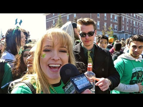 EZRA DRUNK INTERVIEWS - St. Patricks Day 2018 @ Laurier