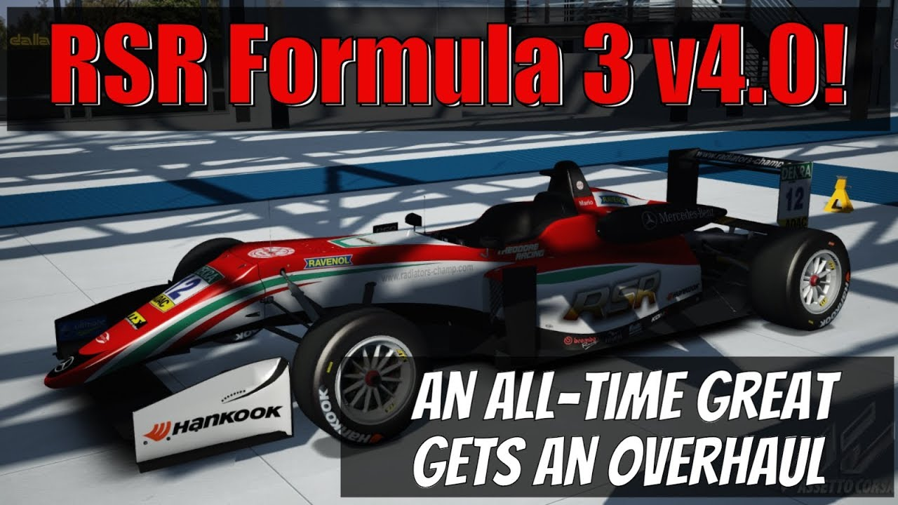 Assetto Corsa: How can this RSR F3 mod be free?