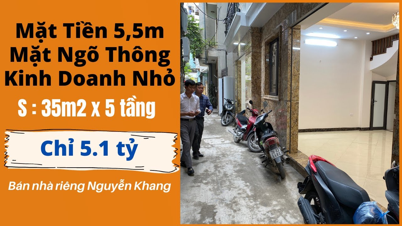 image Bán Nhà Riêng Hà Nội Mặt Ngõ Kinh Doanh Mặt Tiền 5,5M Nguyễn Khang Cầu Giấy - Bán Nhà Hà Nội 2021