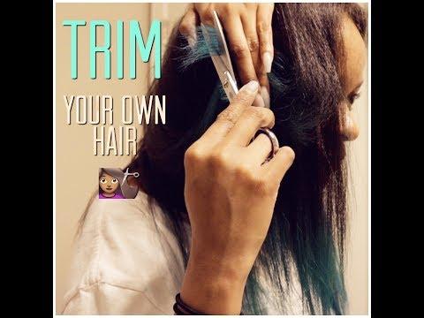 How I Trim my Hair   Natural Hair   Adore Hair Color