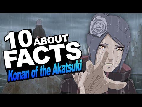 10 Facts About Konan of the Akatsuki You Should Know!!! w/ ShinoBeenTrill & Stahtz Naruto Shippuden