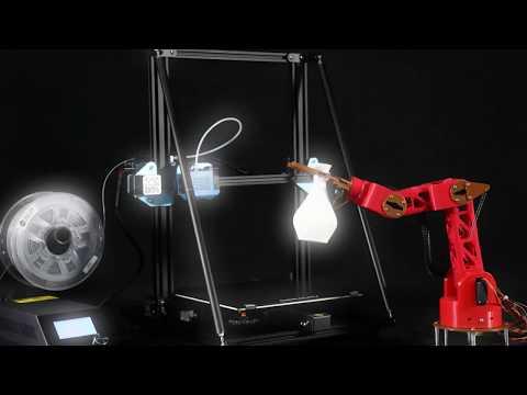 Creality 3D upgrades classic desktop 3D printer CR-10 to V2 version