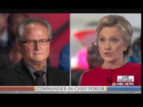 WOW! Veteran Just Knocked Hillary Out of the Race at Presidential Forum!